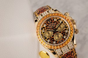 Fake Rolex Daytona Leopard Watch